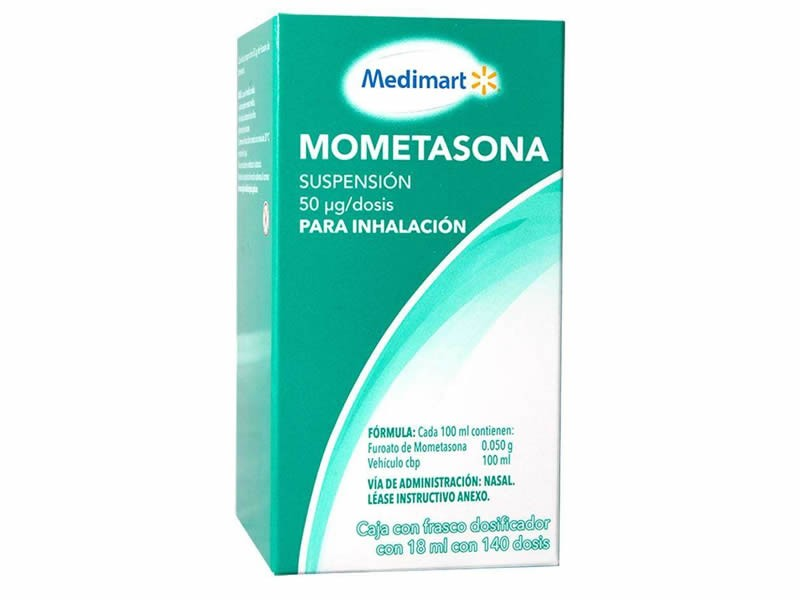 Aerosol nasal de Mometasona