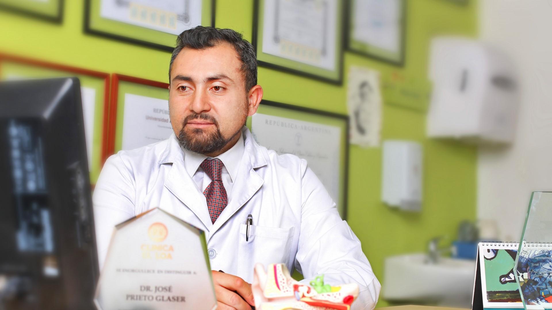 Dr. José Prieto · Otorrinolaringólogo · Calama · Antofagasta  | Chile
